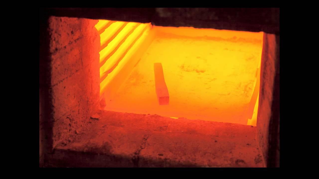 نمایی از فرآیند آنیلینگ فلز در کوره